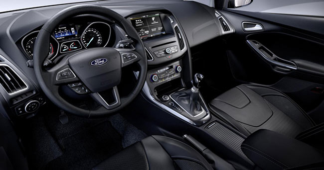 the new ford focus 2014 interior left hand drive model