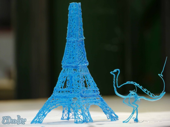 3Doodler being creative