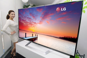 LG's 4K Ultra HD 84 inch TV
