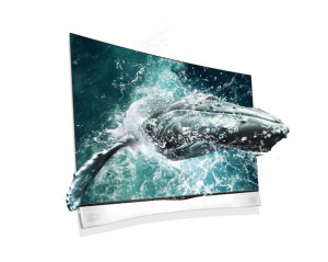 LG Curved TV 3D