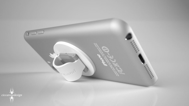 iPhone 6 render by Frederico Ciccarese, image 5 back view