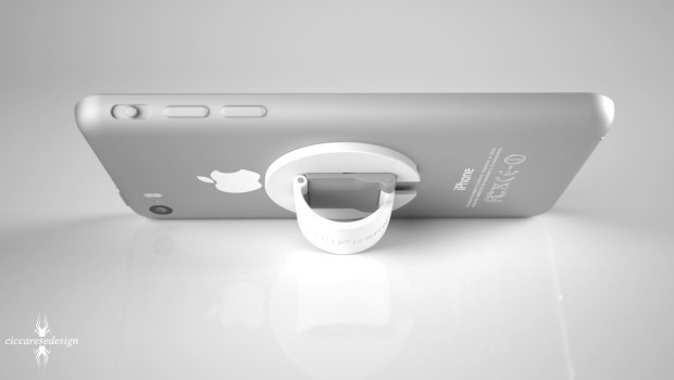 iPhone 6 render by Frederico Ciccarese, image 6 back view