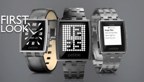 Pebble Steel Smartwatches have arrived