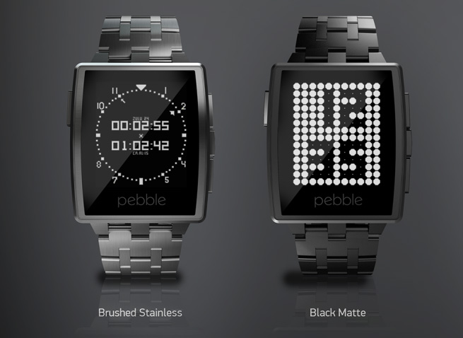 The Pebble Steel Smartwatch