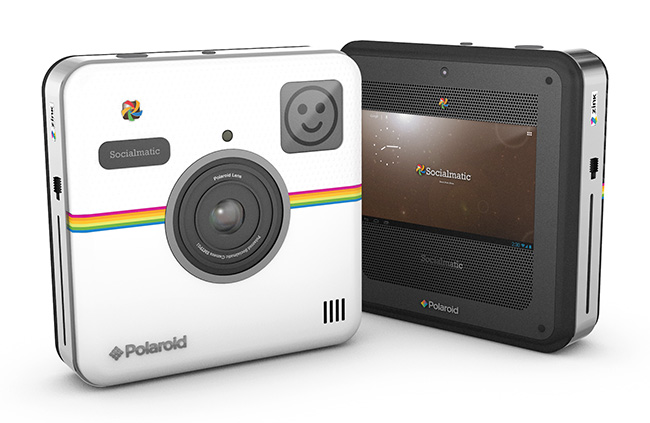 The Polaroid Socialmatic camera