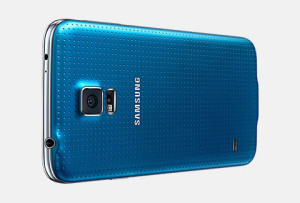 Samsung Galaxy S5 rear view