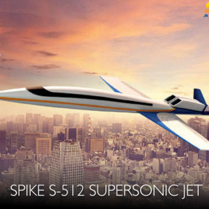 Spike Aerospace S-512 Supersonic Windowless Jet