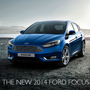 The new 2014 Ford Focus range