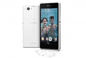 Xperia Z1 Compact upright