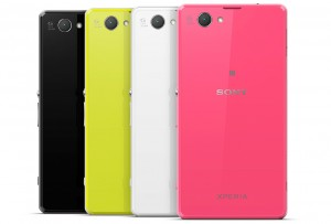Sony Xperia z1 compact colur range